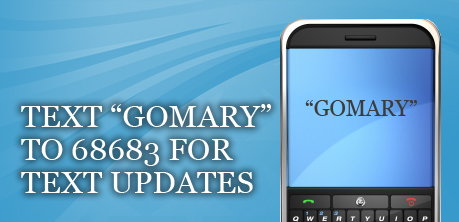 Text GoMary to 68683 For Campaign Updates